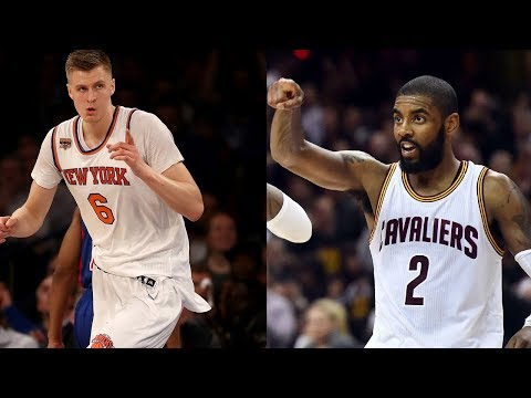 Kristaps Porzingis Being TRADED to the Cavs!?