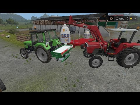 Fertilizing | Small Farm | Farming Simulator 2017 | Episode 6