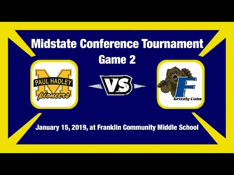 Midstate Conference Semifinals PHMS vs Franklin Community Middle School