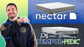 Nectar Vs Tempurpedic | Memory Foam Mattress Review (2019) Reviews
