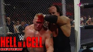 vuclip WWE Hell In A Cell 2015 Full Show Review Lesnar vs Undertaker Wyatts Abduct Undertaker