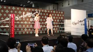 2017年6月11日 気まぐれオンステージ 久保怜音 福岡聖菜 遠いけど4K撮影 自己紹介から~曲の前まで.