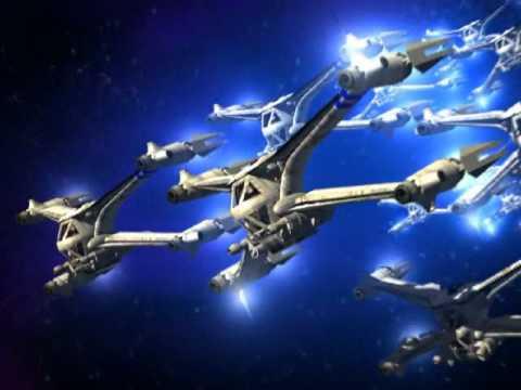 Babylon 5 Starfury Fly By