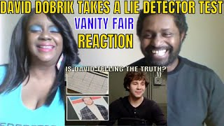 David Dobrik Takes a Lie Detector Test | Vanity Fair REACTION
