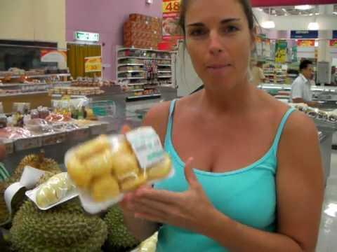 1 of 2 Raw Food & Tropical Fruit Shopping in Thailand by Jennifer Thompson of Koh Samui