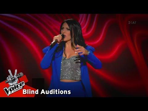 Αλεξία Χιώτη - Χίλιες βραδιές   9o Blind Audition   The Voice of Greece
