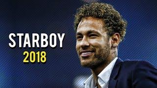 Neymar Jr ● The Weeknd - Starboy ● Skills, Assists & Goals 2018 | HD