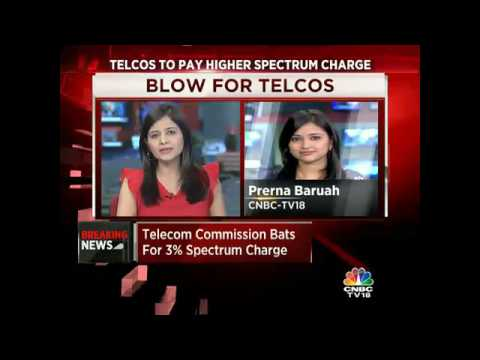 CNBC-TV18 Exclusive: Telecom Commission Refuses To Budge. Telcos To Pay Higher Spectrum Charge.