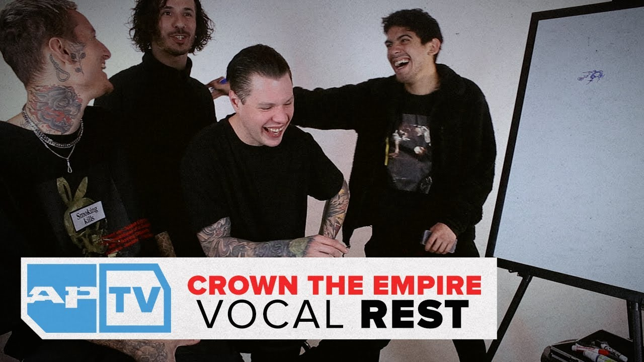 Crown The Empire Draw A Substitute for Andy Leo, Their Best Song and Lyric  | AP