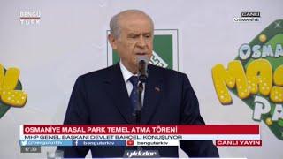 """Osmaniye """"Masal Park"""" Temel Atma Töreni"""
