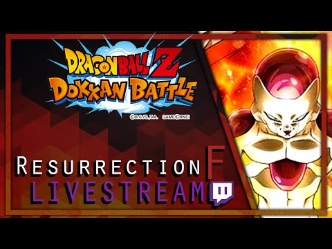 Chilling and Dokkan Battle! Dragon Ball Z Dokkan Battle Resurrection F Event Gameplay
