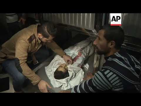 Gaza officials: Teen killed by Israelis at protest