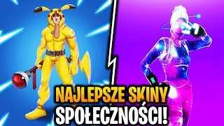 THE BEST SKINS OF FORTNITE PLAYERS!