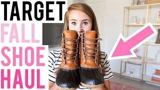 Target Shoe Haul  |  Fall 2016