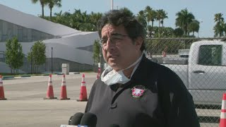 WEB EXTRA: Officials Give Update On COVID-19 Testing At Hard Rock Stadium