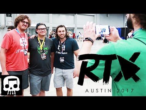 JT Machinima at RTX Austin 2017 (Mini-Vlog)