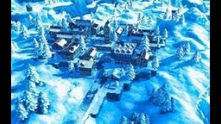 How To Build A Small Hunger Games Snow Map. Fortnite Creative Snow #1