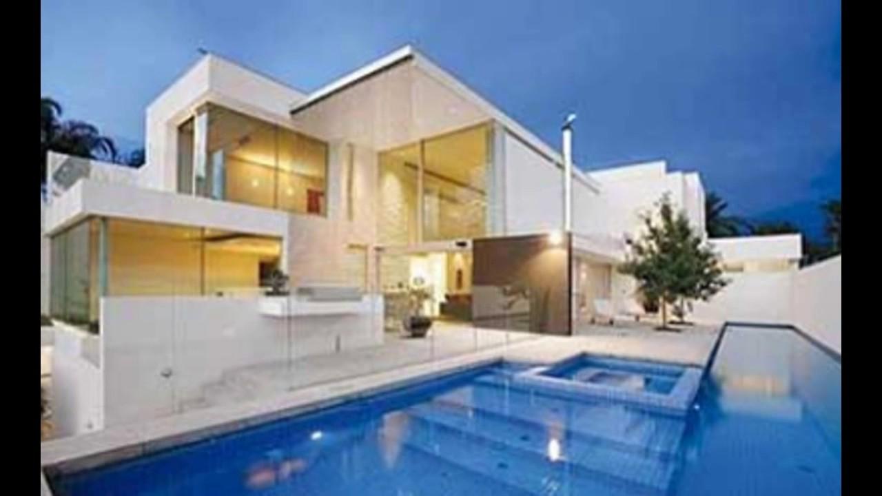 Casas mais bonitas do mundo youtube for Casas modernas brasil