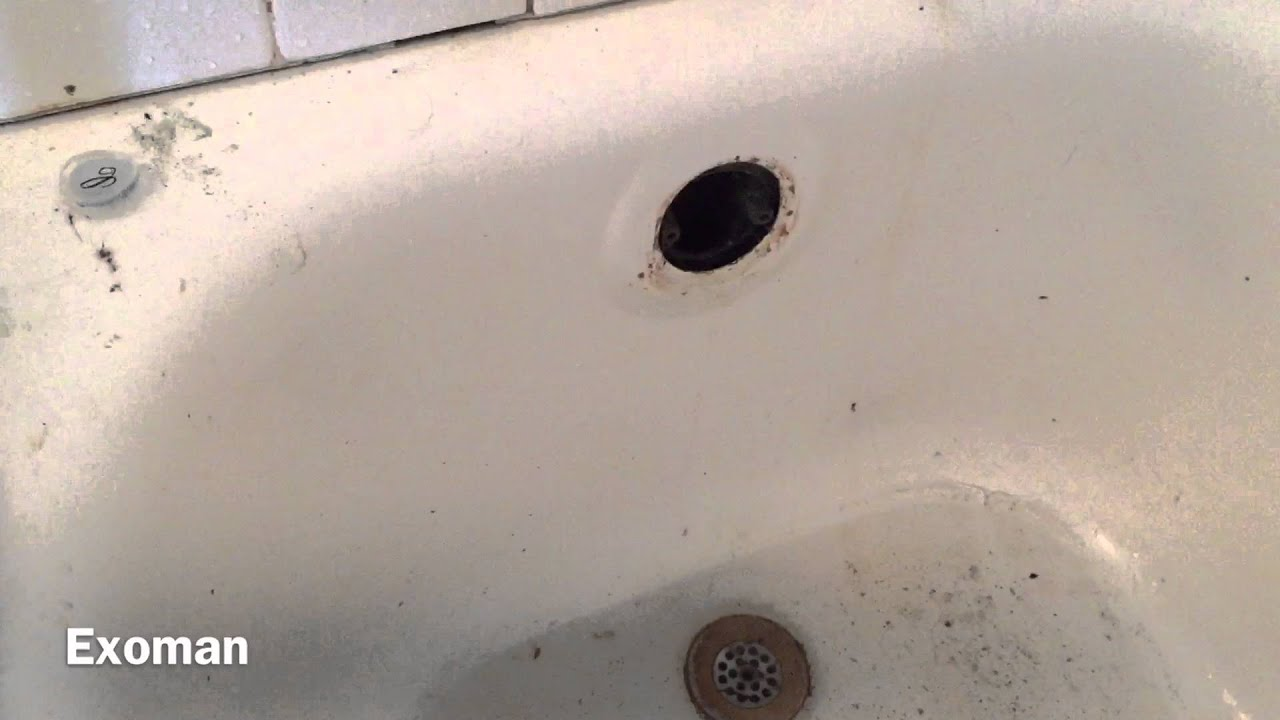 How To Clear A Clogged Drain In An Old Tub From The 60's