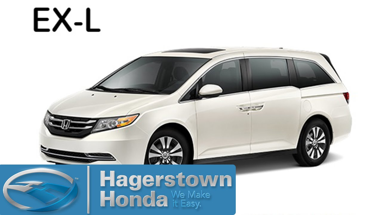 2016 honda odyssey exl colors hagerstown honda youtube for 2016 honda odyssey colors