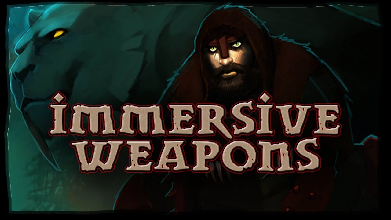 Immersive Weapons at Skyrim Nexus - mods and community