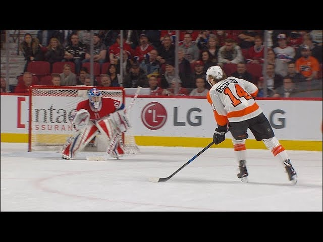 Couturier scores shootout winner against the Canadiens