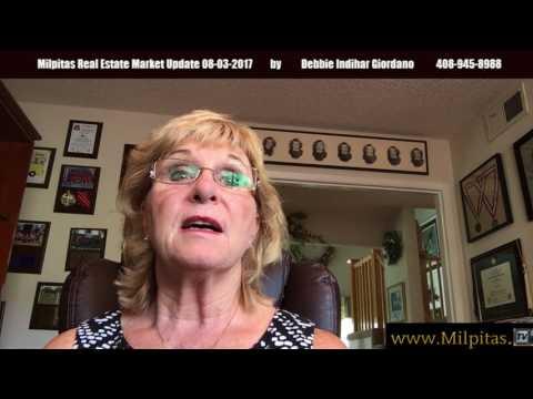 Milpitas Real Estate Market Update 08-03-2017