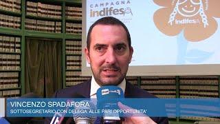 """Violenza sui minori, presentato il dossier di Indifesa. Spadafora: """"Rivedere ddl Pillon"""""""