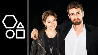Shailene Woodley & Theo James Talk