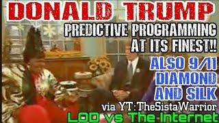 Donald Trump Predictive Programming on Mad TV and 9/11 prediction year 2000 Freemason illuminati NWO