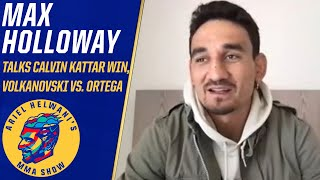 Max Holloway says he'll finish career at lightweight or welterweight | Ariel Helwani's MMA Show