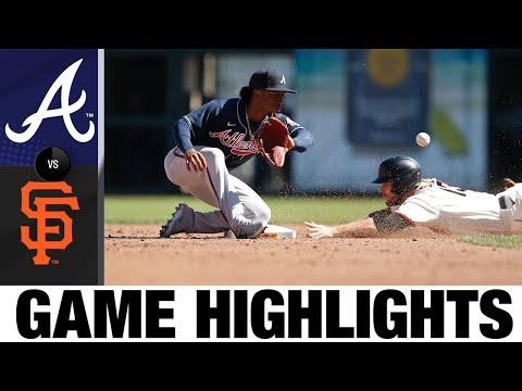 Braves Vs. Giants Game Highlights (9/19/21) | MLB Highlights