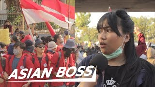 Indonesian Protests on the New Controversial Criminal Code | ASIAN BOSS