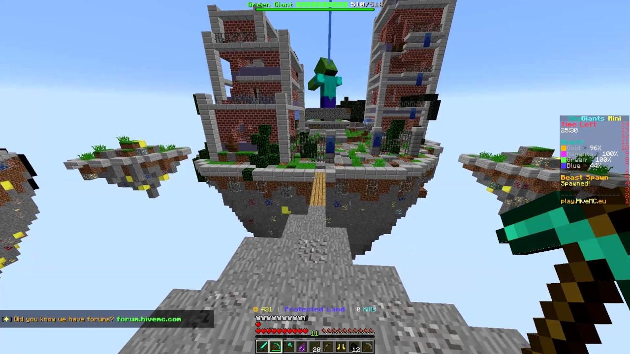 ცის გიგანტები – პირველი თამაში (Minecraft ქართულად)