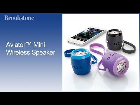 Aviator™ Mini Wireless Speaker