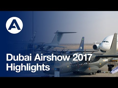 Airbus at Dubai Airshow 2017: Event highlights