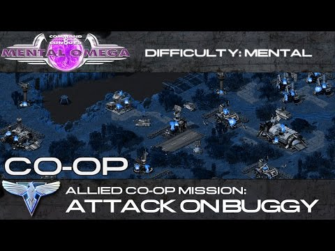 Mental Omega 3.3 // Allied Co-Op: Attack on Buggy
