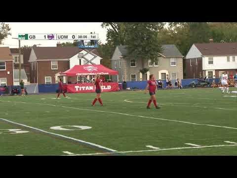 2017 NCAA Women's Soccer   Green Bay vs Detroit Mercy