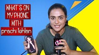 What's On My Phone With Prachi Tehlan aka Susheel Of Ikyawann   Telly Reporter Exclusive