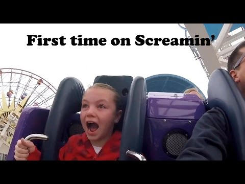 First time on California Screamin' POV!