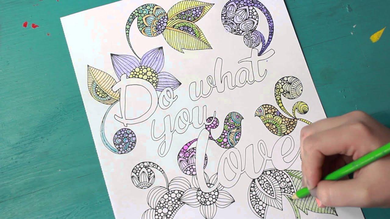 Coloring book adult meditation stress - Fun Stress Relieving Meditation Adult Coloring Books