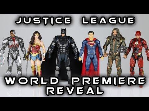 DC Multiverse JUSTICE LEAGUE World Premiere Reveal