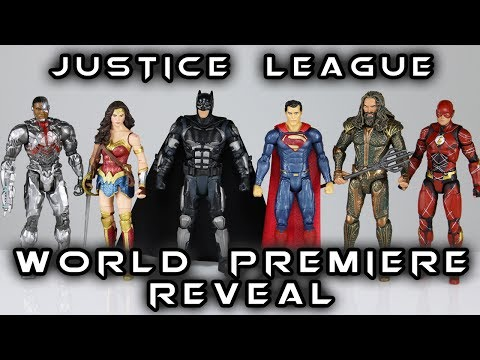 DC Multiverse JUSTICE LEAGUE World Premiere Reveal