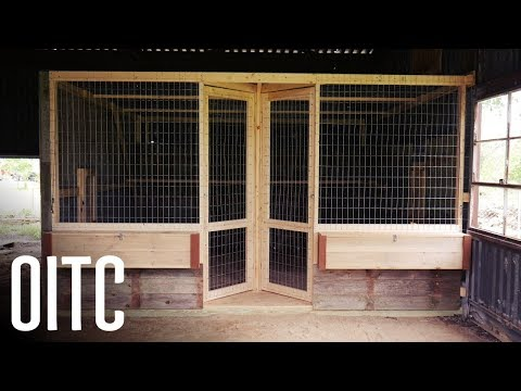 How we Made our New Bigger Better Chicken Coop!