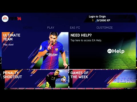 FIFA 14 Mod 2018 Android Offline 850 MB New Menu Best Graphics