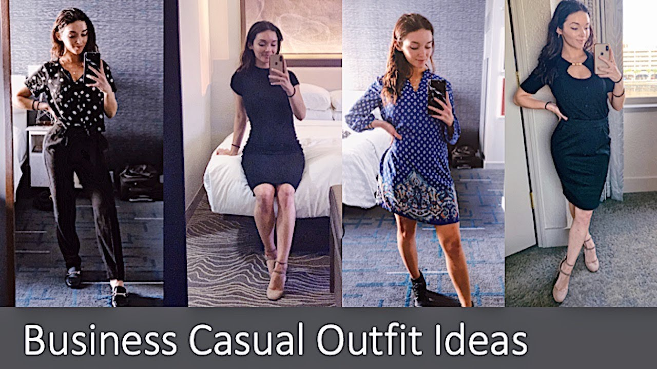 [VIDEO] - Business Casual Outfits I Wear for my Corporate 9-5 7