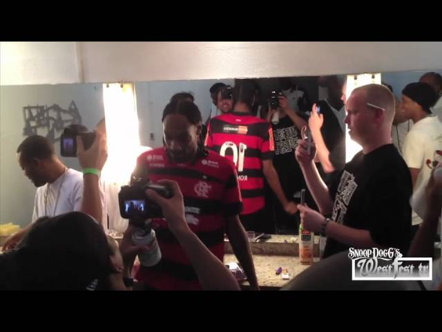 Tha Doggumentary World Tour: Snoop Dogg Meets Ronaldinho in Brazil