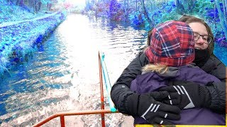 The narrowboat is too cold (CAN'T GO ON) Hindford to Chirk on the Llangollen Canal
