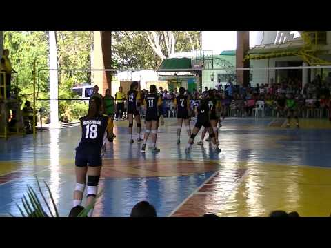 NCR Palaro 2016 Manila vs Quezon City set 4 Girls' Volleyball