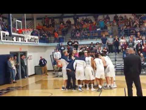 Otero Junior College - Qtr Finals Team Intro - 3/3/2016